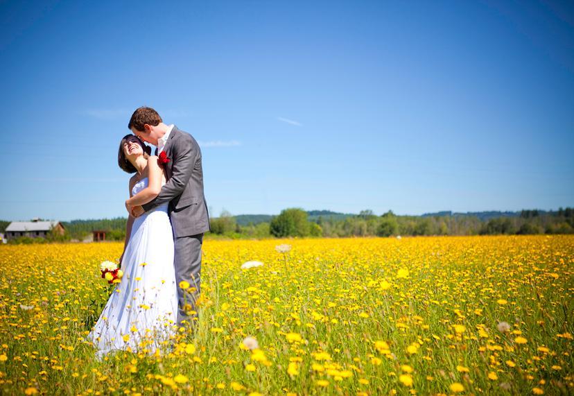 Amy and James' Wedding | Chehalis Wedding Photography
