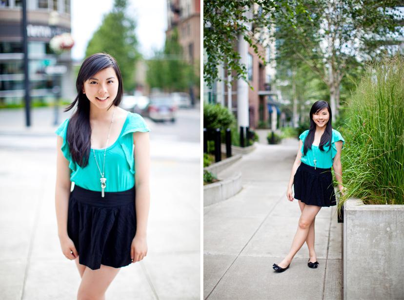 Evelyn Xue | Portland Senior Portrait Photography