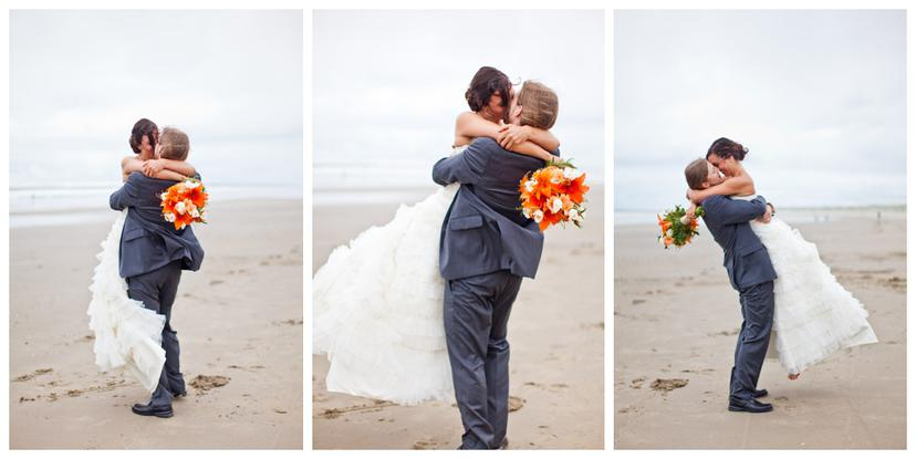 Alex and Casey | Newport, Oregon Wedding Photography