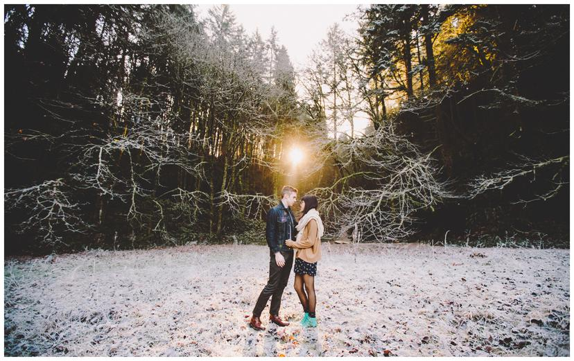 Kyle and Jamie   Portland Couples Photography