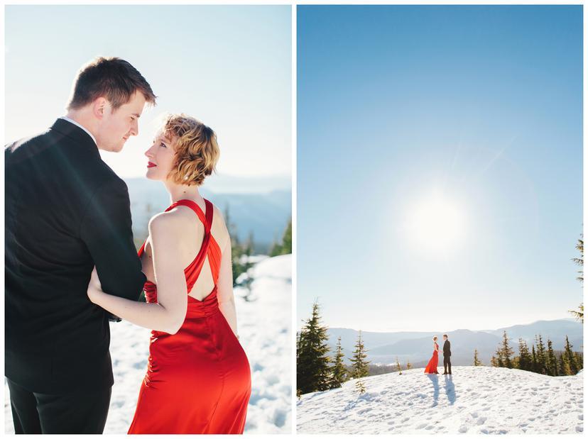 Audrey and Joe | Mt. Hood Engagement Photos