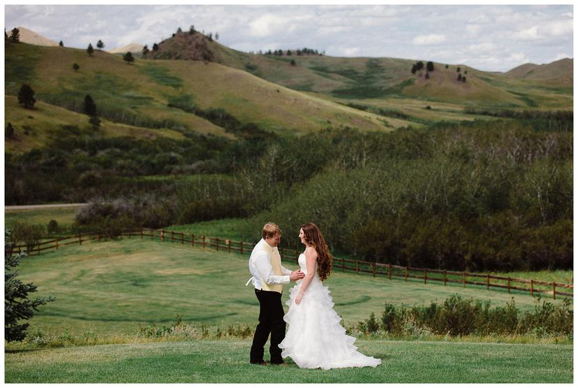 Kim and Pete | Montana Wedding Photography