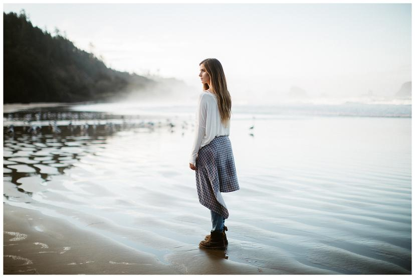Allie   Oregon Coast Senior Photos