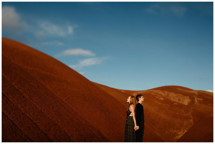 Dawn and Thomas | Painted Hills Engagement Photos