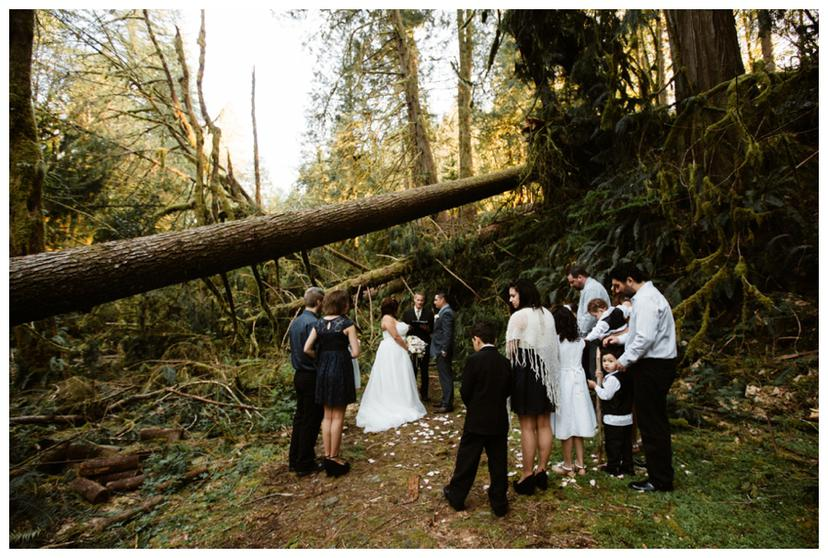 Kia and Johnny | Portland Elopement Photographer