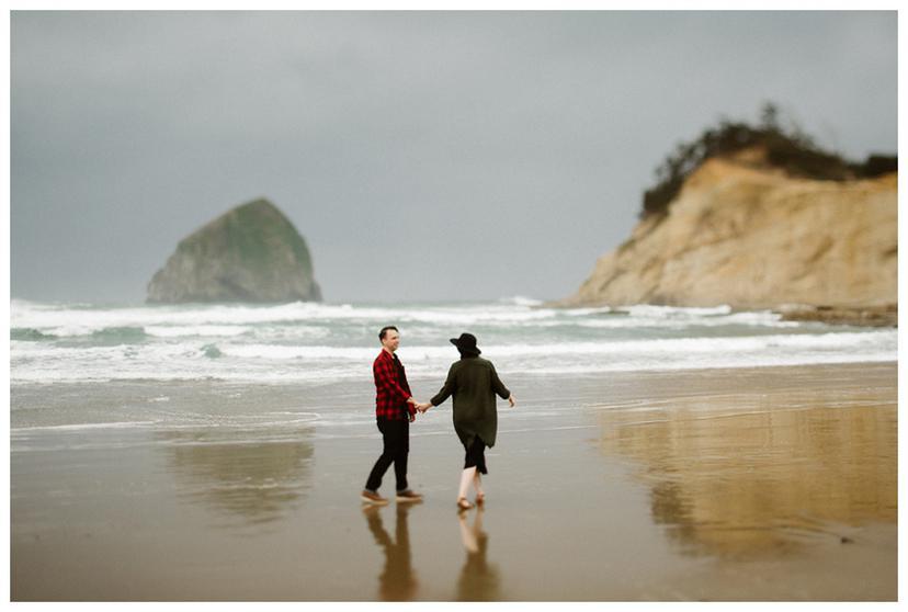 Mel and Jason | Oregon Coast Couples Photos