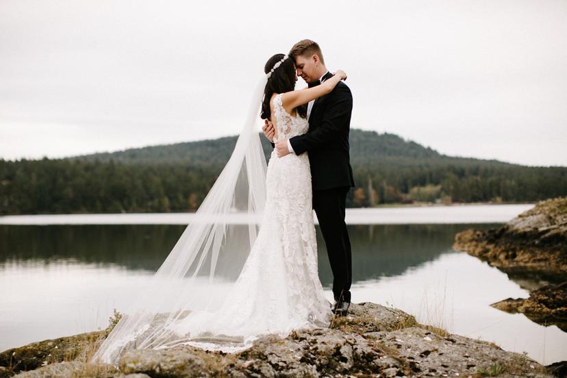 San Juan Island Wedding Photographer | Andy and Kim