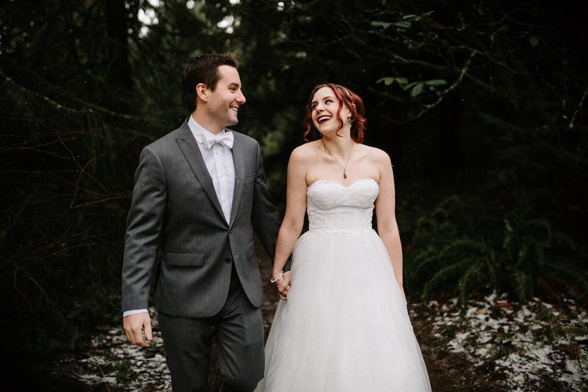 Lauren and Dan | Portland Elopement Photographer