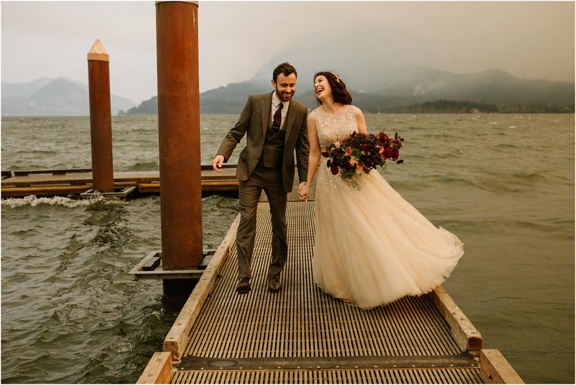 Columbia River Gorge Elopement | Erin and Joe