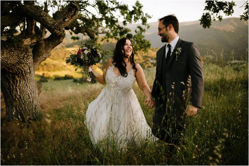 Spring California Wedding at the Holman Ranch in the Carmel Valley