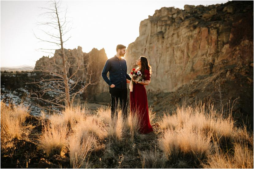 Smith Rock Engagement Photos | Candice and Jim