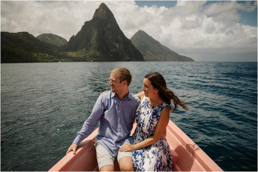 Day After Wedding Photos in Soufriere, St Lucia