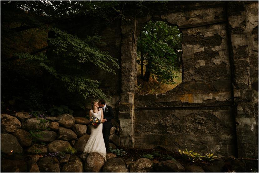 Wildwood Events Indoor Wedding in Hood River, Oregon | Samantha and Marshall