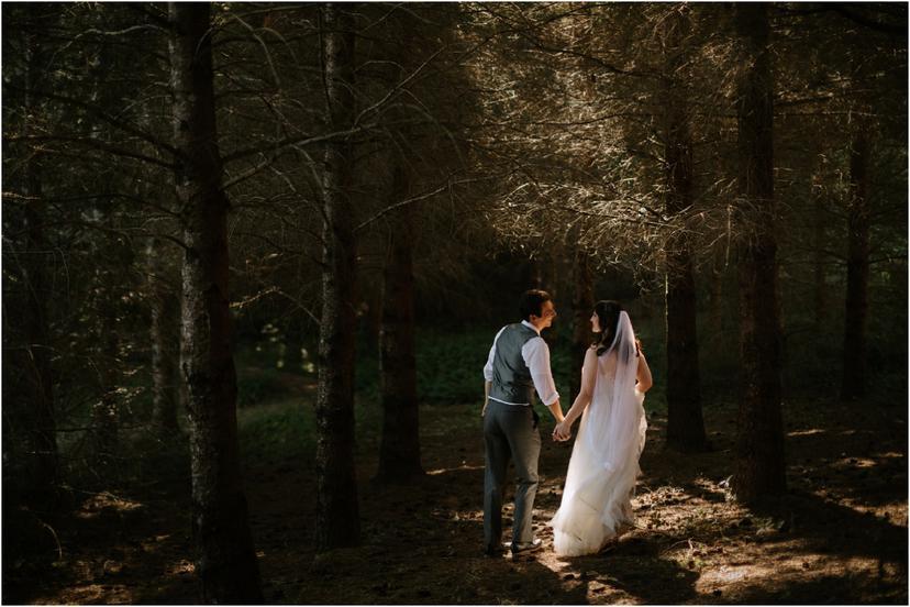 A Romantic Woodland Wedding in Eugene, Oregon