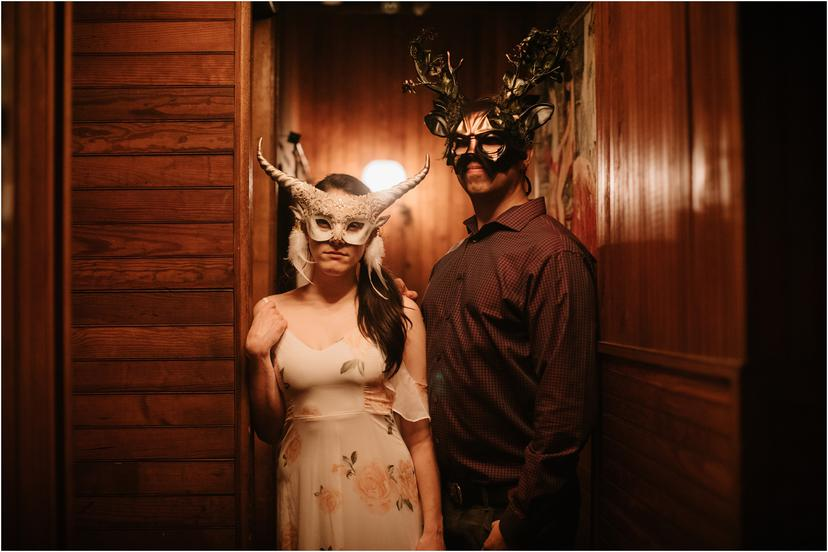 Masquerade Rehearsal Dinner at Spillian in the Catskills