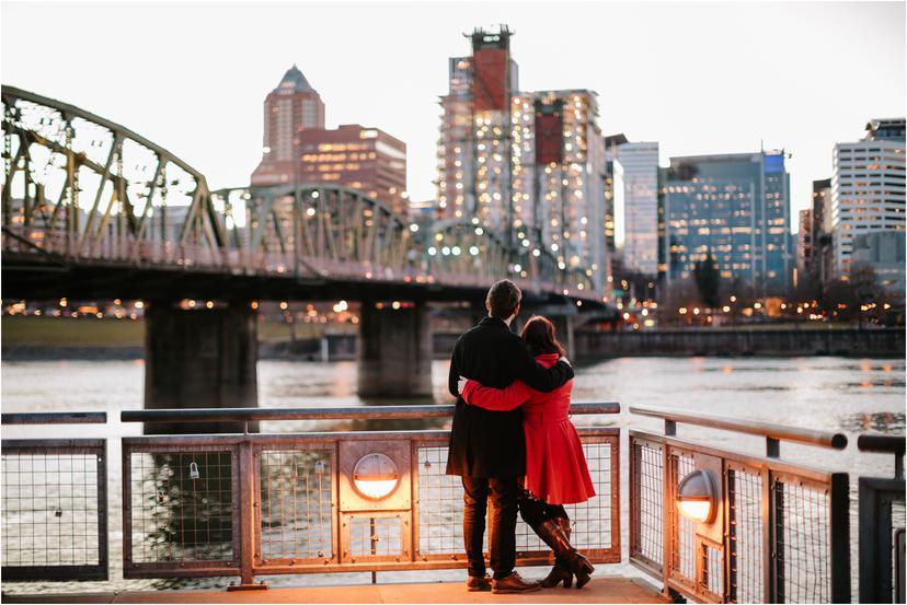 Eastside Industrial Area Portland Engagement Photos