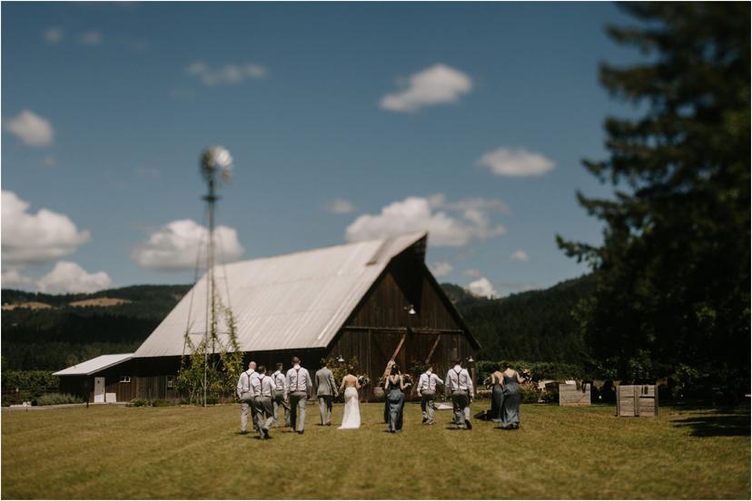 Nina and Zach's Tin Roof Barn Wedding
