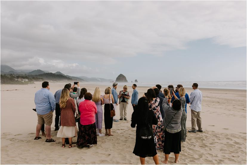 Cannon Beach Wedding Photos