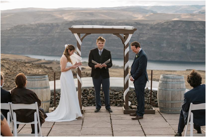 Cave B Winery Wedding