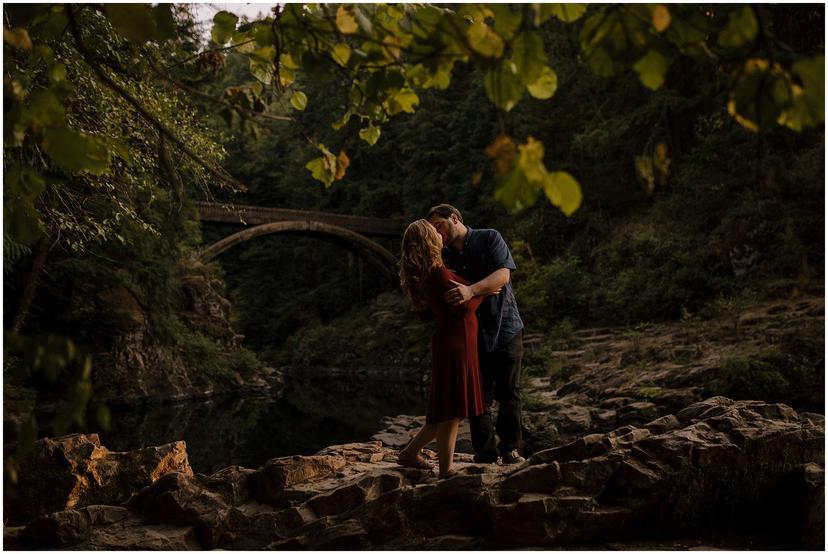 Moulton Falls Engagement Photos