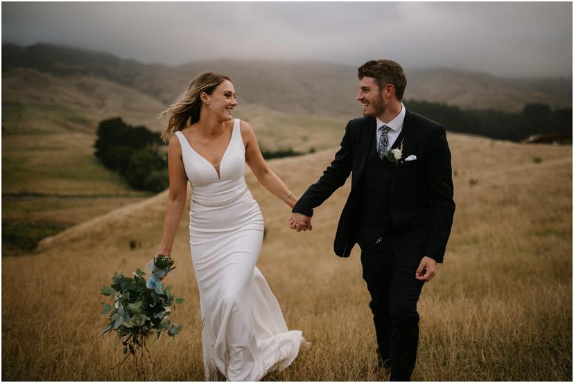 Ohariu Farm Wedding in Wellington, New Zealand