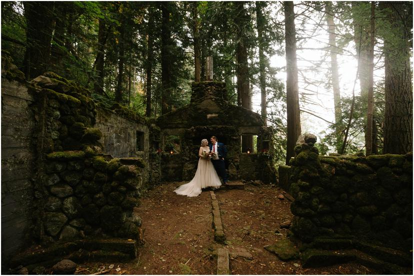 Skamania Stone House Elopement
