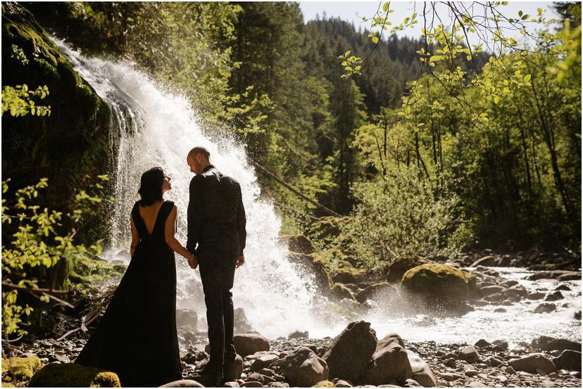 Steep Creek Falls Elopement